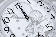 Twelve oclock Stock Photography