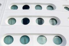 Twelve Portholes Stock Images