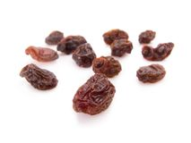 Twelve raisins for New Year Stock Image