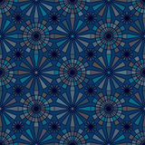 Twelve ray colorful seamless pattern Stock Photo