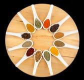 Twelve spices Stock Photo