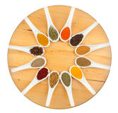 Twelve spices Royalty Free Stock Images