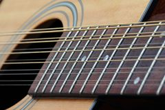 Twelve String Guitar Stock Images