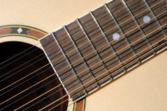 Free Twelve Strings Guitar Royalty Free Stock Photo - 25486785