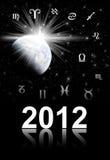 Twelve symbols of the zodiac Royalty Free Stock Photography