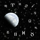 Twelve symbols of the zodiac Stock Photo