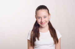Twelve year old girl Stock Images