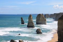 Twelves Apostles, Great Ocean Road, Victoria Australia Stock Image