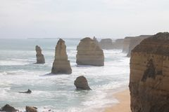 Twelves Apostles, Great Ocean Road, Victoria Australia Stock Photography