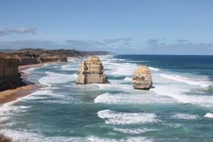 Twelves Apostles, Great Ocean Road, Victoria Australia Stock Images