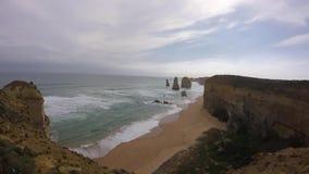 Twelves apostołowie, Portowy Cambell, Australia zdjęcie wideo