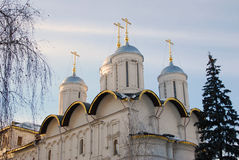 Twelwe apostles church. Moscow Kremlin. UNESCO World Heritage Site. Stock Image
