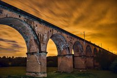 Twemlow Viaduct Stock Photography
