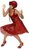 Twenties Charleston Woman Royalty Free Stock Photo