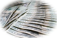 Twenties Spread Out With White Frame High Quality. Stock Photo Royalty Free Stock Image