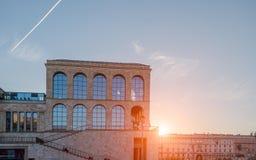 Twentieth Century milano. Milano italia April 14, 2016: Museum of the twentieth century in Milan is a permanent exhibition of works of art from the twentieth stock photography