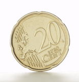 Twenty cent euro coin Royalty Free Stock Image