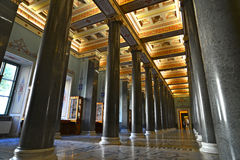 The Twenty Column Hall of winter palace Stock Photos