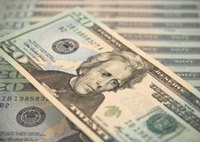Twenty dollar bill Royalty Free Stock Image
