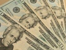 Twenty dollar bill Stock Photos