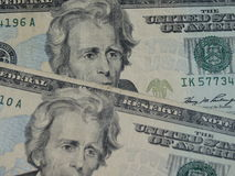 Twenty dollar bill Stock Photography
