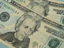 Twenty dollar bill Royalty Free Stock Image