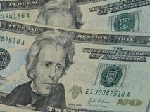 Twenty dollar bill Royalty Free Stock Images