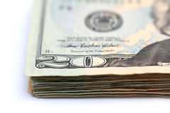 Twenty Dollar Bills Stock Image