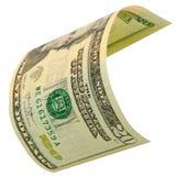 Twenty dollars isolated. Stock Images