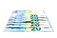 Twenty euro banknote Stock Images