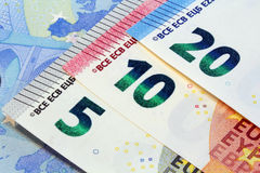 Twenty euro banknotes new design Royalty Free Stock Photography