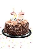 Twenty fifth birthday or anniversary Stock Images