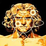 New Vitruvian Man royalty free stock photo
