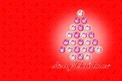 Twenty four days until Christmas - concept image with christmas tree.  stock image