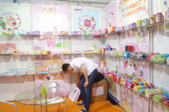 The twenty-fourth China (Shenzhen) International Gifts, Arts & Crafts, home supplies exhibition. The twenty-fourth China (Shenzhen) International Gifts, arts and royalty free stock photos