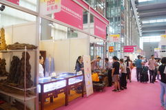 The twenty-fourth China (Shenzhen) International Gifts, Arts & Crafts, home supplies exhibition. The twenty-fourth China (Shenzhen) International Gifts, arts and stock image