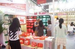 The twenty-fourth China (Shenzhen) International Gifts, Arts & Crafts, home supplies exhibition Stock Photos