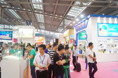 The twenty-fourth China (Shenzhen) International Gifts, Arts & Crafts, home supplies exhibition. The twenty-fourth China (Shenzhen) International Gifts, arts and stock photos