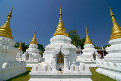 Twenty monastery. This is a monastery of lumpang in thai royalty free stock photography