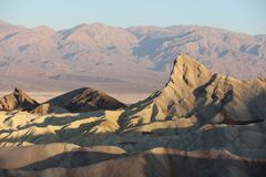 Twenty Mule Canyon from Zabriskie Point. Badlands Death Valley. California Royalty Free Stock Photography