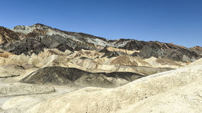 Twenty Mule Team Canyon Road, Death Valley Royalty Free Stock Photo