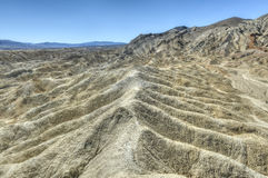Twenty Mule Team Canyon Road, Death Valley Royalty Free Stock Photography