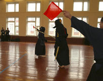 Twenty-ninth Moscow Open Tournament on Kendo Royalty Free Stock Photos