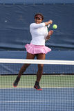Twenty one times Grand Slam champion Serena Williams on practice court at US Open 2015 Stock Images