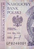 Twenty polish zloty Stock Images
