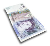 Twenty pound note Royalty Free Stock Photography