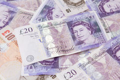 Twenty pound note Stock Images
