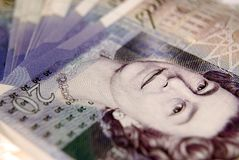 Twenty Pound Note Royalty Free Stock Images