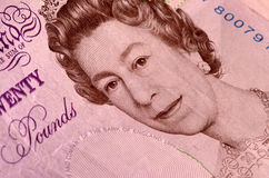Twenty pound note Royalty Free Stock Photos