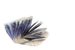 Twenty Pound Notes. On white Stock Images